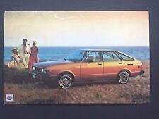 1970's(?) NISSAN DATSUN 510 promotional postcard (for dealers use) ever own one?