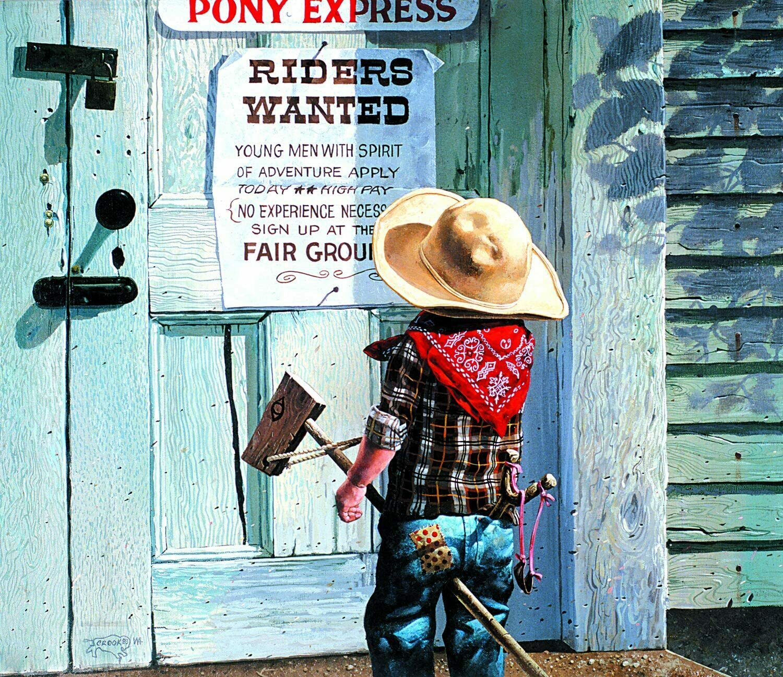 SUNSOUT INC Pony Rides 500 pc Jigsaw Puzzle