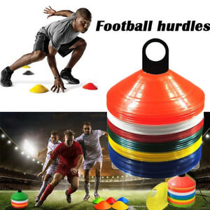 88ecc9896 Image is loading Training-Aids-Football-Soccer-Speed-Hurdles-Cones-Markers-