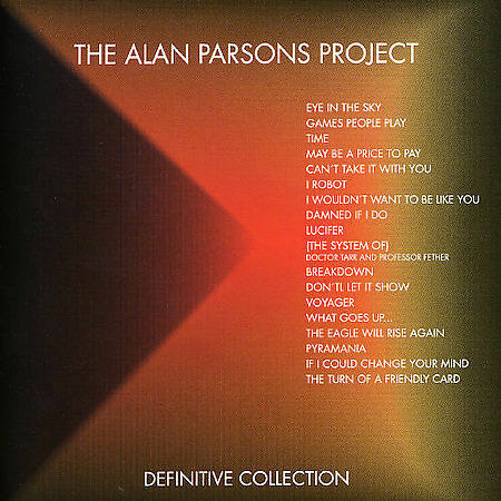 Definitive Collection By The Alan Parsons Project Cd May 2005 Bmg Arista For Sale Online Ebay
