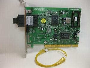 Coretek FNICTPB2.JOB 00-FNIC-TP-B2 Fiber NIC PCI SC Controller Card