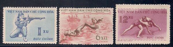 2019 DernièRe Conception Vietnam 1959 Sc # 102-04 Sports Neuf Sans Charnière Ngai (10073) Les Catalogues Seront EnvoyéS Sur Demande