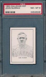 1950-Callahan-HOF-Baseball-John-McGraw-PSA-8-NM-MT