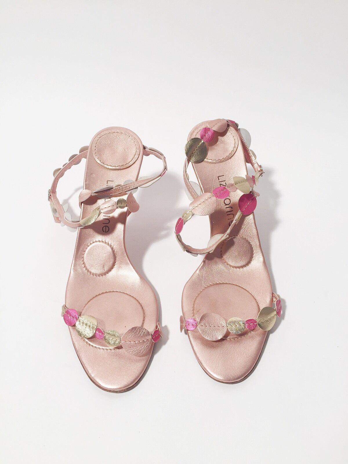 miglior prezzo migliore Liz Carine Dimensione Dimensione Dimensione 10 40 rosa Metallic Heels  centro commerciale online integrato professionale