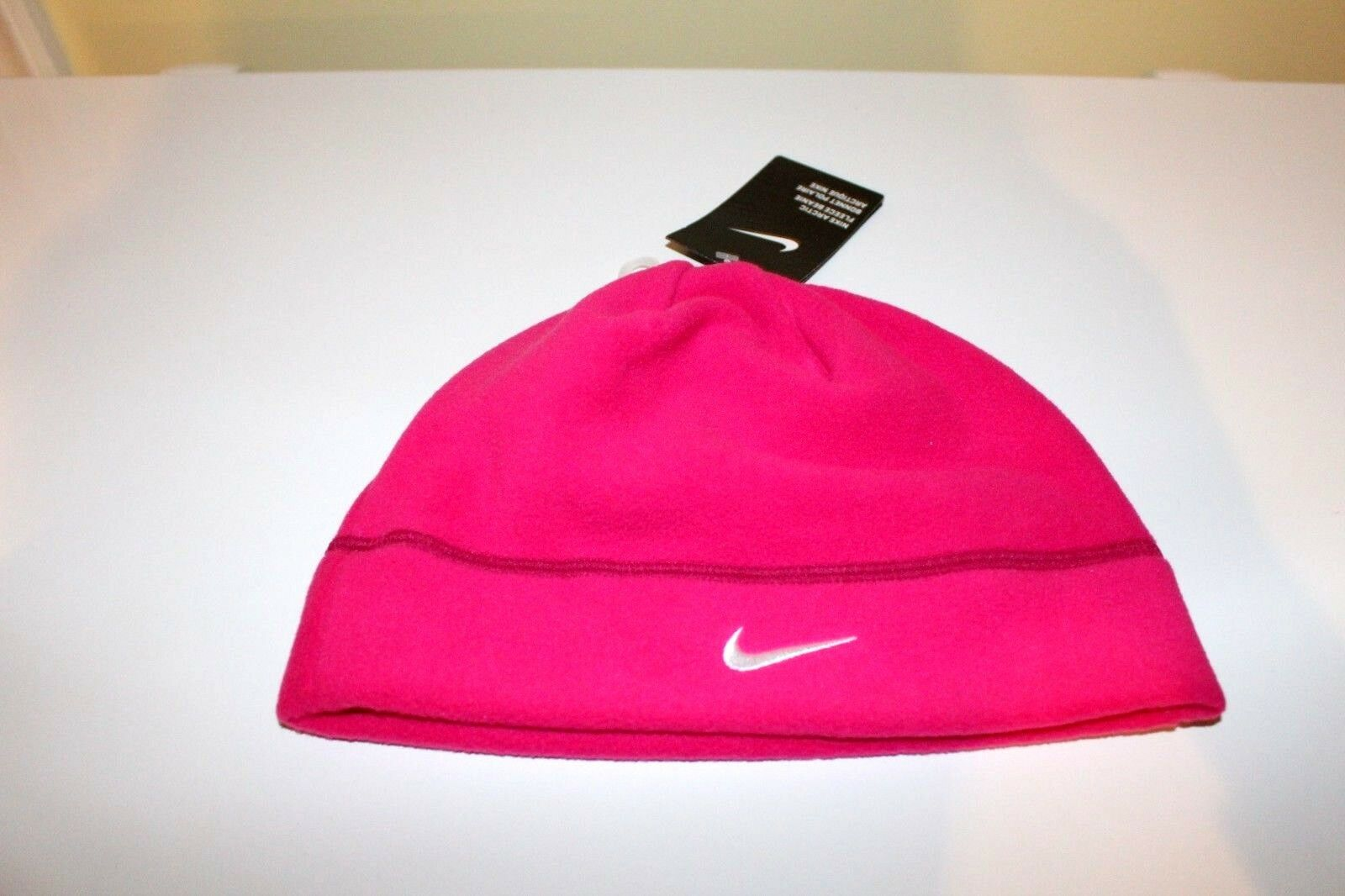 c4076a03835 Nike Pink Arctic Fleece Beanie Cap Hat Adult Unisex Skate snowboard ...