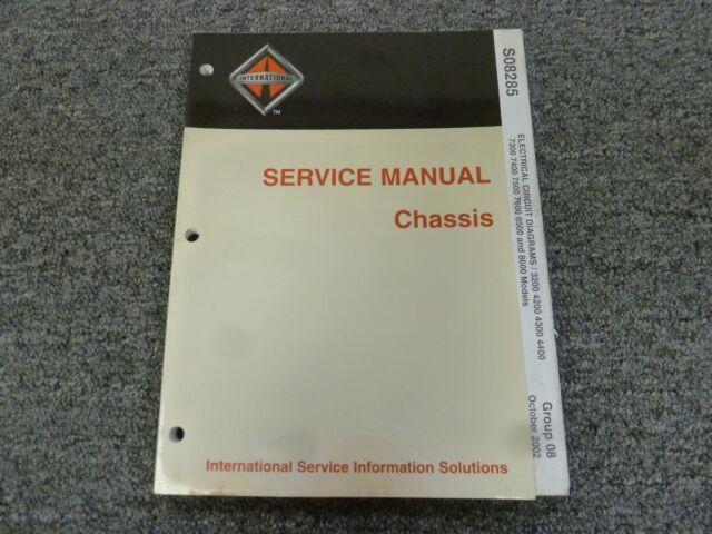 2010 International 4200 4300 4400 Semi Truck Electrical Wiring Diagram Manual