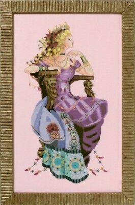 Rapunzel 10/% Off Nora Corbett//Mirabilia Counted X-stitch Chart