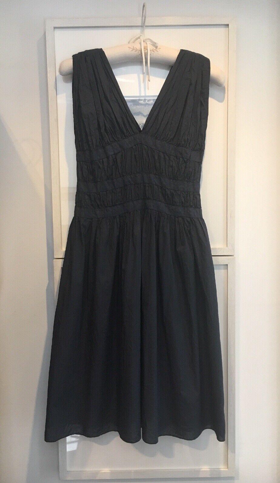 POMANDERE ITALY Forte Forte Navy bluee Cotton Dress Sundress Worn Once UK8  It40