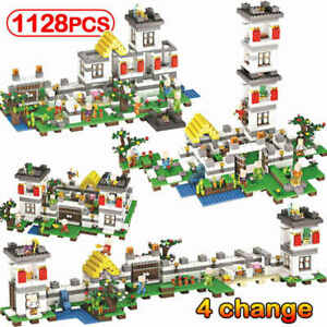 MYWORLD Series Forest Manor Set 1128 Pcs Kids Toy 4-in-1 Set Building Game