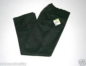 Chicos-Teflon-cubierto-Escuela-pantalones-de-Media-Cintura-Elastica-De-7-A-12-Anos
