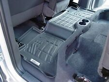 Second Row Black Floor Mat for a 2009 - 2017 Dodge Ram Quad Cab