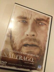 Dvd-NAUFRAGO-CON-TOM-HANKS-EDICION-ESPECIAL-2-DISCOS