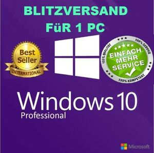 Windows-10-Pro-Key-Aktivierungsschluessel-Win-10-Professional-x32-amp-x64-Bit-Email