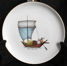 "Vintage ESCHENBACH BARONET Bavaria Germany GANGES DINGHI 1200 8"" Ship Plate"