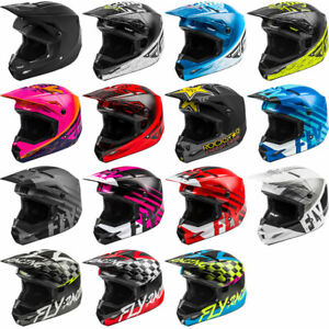 MD Off-road FLY Racing Kinetic Straight Edge Helmet Full-Face Helmet for Motocross ATV UTV Bicycle and More RED//WHITE//BLUE
