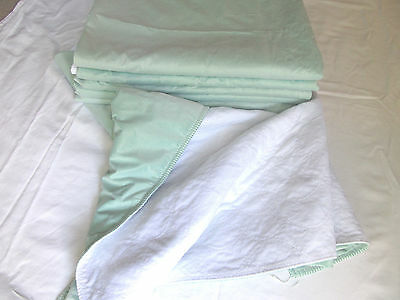 10 Pee Wee Bed Pads B Grade Reusable Hospital Washable  26 x 28 Extra Absorbent