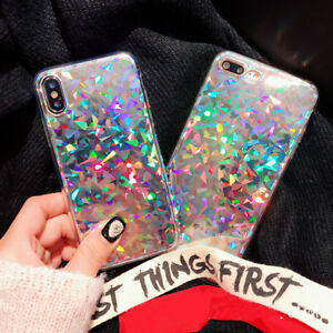 6bd7173ad9a Luxury Bling Glitter Thin Soft Silicone Case Cover For iPhone XS XR ...