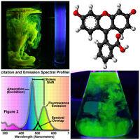 Pure Fluorescein Fluorescent Water Dye – drain tracing, glow in the dark
