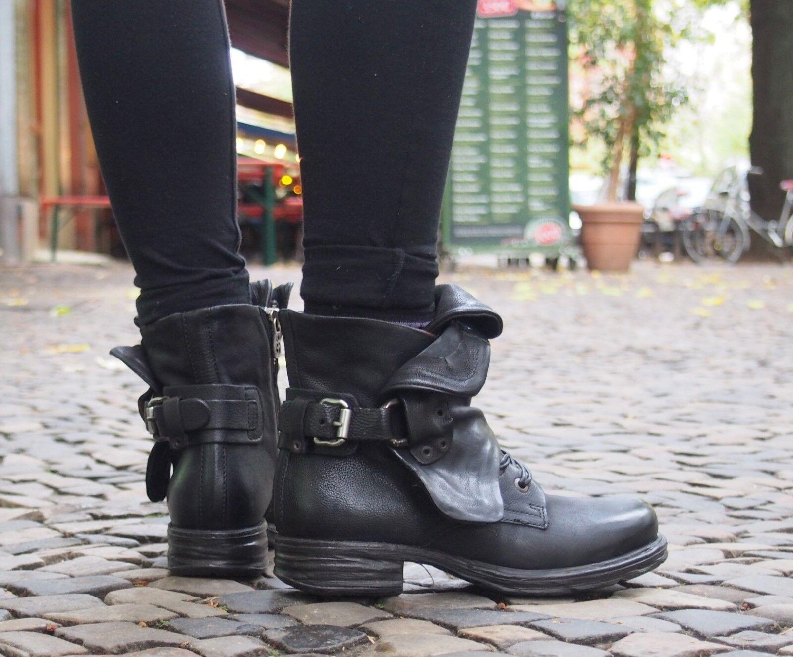 A.S.98 Damenstiefel 259211 Saint Nero Schwarz Damenschuh Stiefel Boot NEU SALE