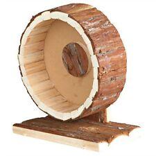 De Madera Natural Free Standing Ejercicio Para Hamster Rueda movimiento suave y silencioso 20cm