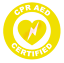 thumbnail 9 - CPR-AED-Certified-Circle-Emblem-Vinyl-Decal-Window-Sticker-Car