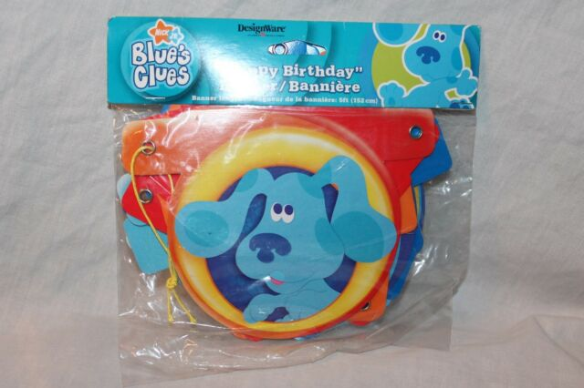 Party America Blues Clues Streamer