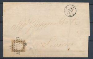 1861-SARDAIGNE-10c-obl-GRILLE-DE-LOSANGES-CAD-PRATO-TB-ITALIE-X1013