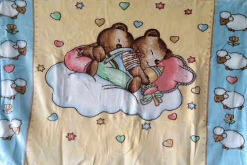 Babydecke Kuscheldecke Reisedecke Flauschig Schmusedecke ca 110cm x 140cm NEU!!