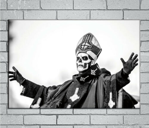 E871 Art Ghost BC Rock Band Music Star Singer Mask 18 24x36inch Poster New Gift