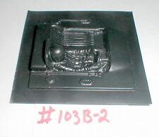 "(1) Slot Car Driver interior with Head NOS 3 1/4"" X 3 1/4"" 1960 Vintage #103B-2"