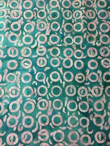 *BRAND NEW* 100/% COTTON BUBBLE DESIGN BATIK FABRIC FOR QUILTING AND CRAFTS