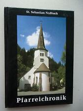 St. Sebastian Nußbach Pfarreichronik 1. Auflage 2000