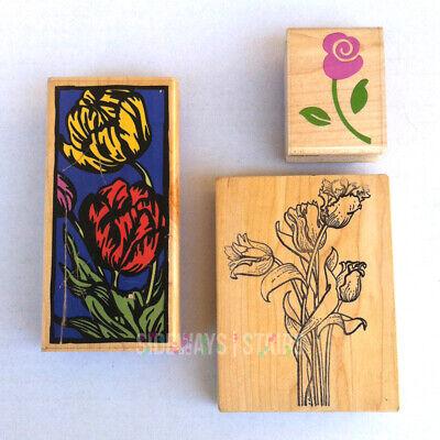 flower stamp talktothesun ume blossom rubber stamp gift for her japanese stamp spring stamp hand carved stamp botanical stamp