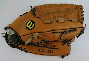 Wilson-Pro-Staff-A1875-PS8-Baseball-Softball-Mitt-Glove-Right-Hand-Throw-Leather