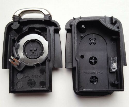 Blank HAA Blade Fits Seat Alhambra Altea 3 Button Flip Remote Key Fob Case