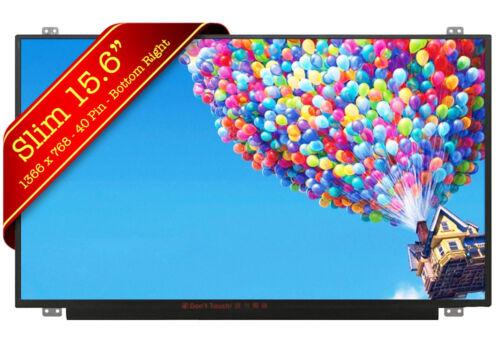 "LTN156AT30 LTN156AT30-D01 Slim 15.6/"" LED LCD Laptop Screen 1366*768 HD 40 Pin"