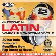 DMC Warm Up Latin Monsterjam Volume 2 Ivan Santana Megamix CD