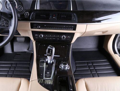 Auto Fußmatten Kunstleder schwarz hoher Rand passend für Ford S-MAX Bj.2006.2014