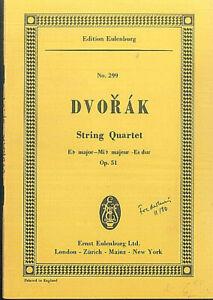 DVORAK-String-Quartet-Es-Dur-Op-51-Studienpartitur