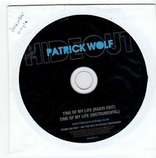 (EZ699) Patrick Wolf, Time Of My Life - 2010 DJ CD
