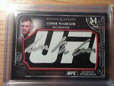 2016 Topps Conor McGregor Museum 1/1 UFC Glove Logo Auto