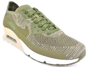 Details zu Nike Air Max 90 Ultra 2.0 Flyknit Airmax Schuhe Shoe Sneaker Grün gr. wählbar