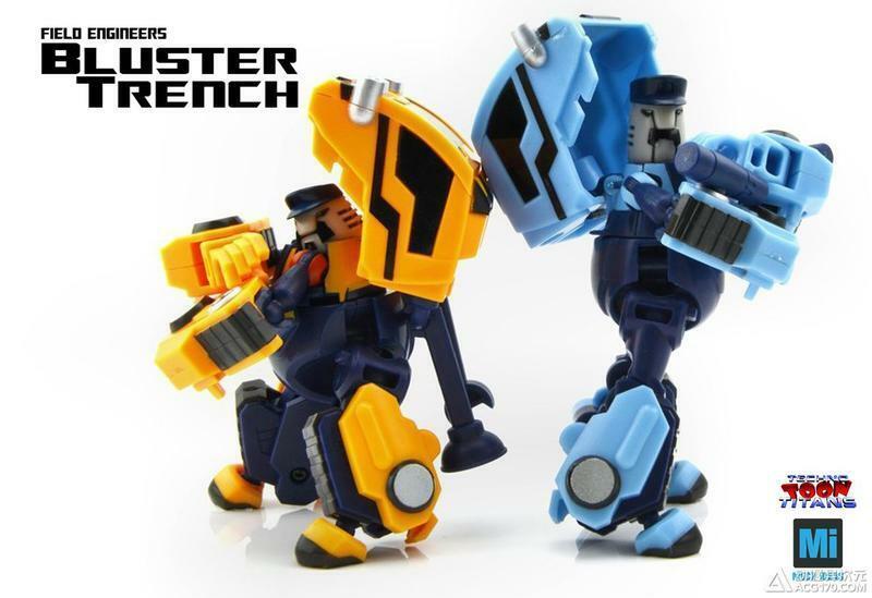 [giocattoli Hero] In  He MECH iDEAS TTT-01 Bluster Trench pipes huffer & Mario Luigi  risparmia fino al 50%