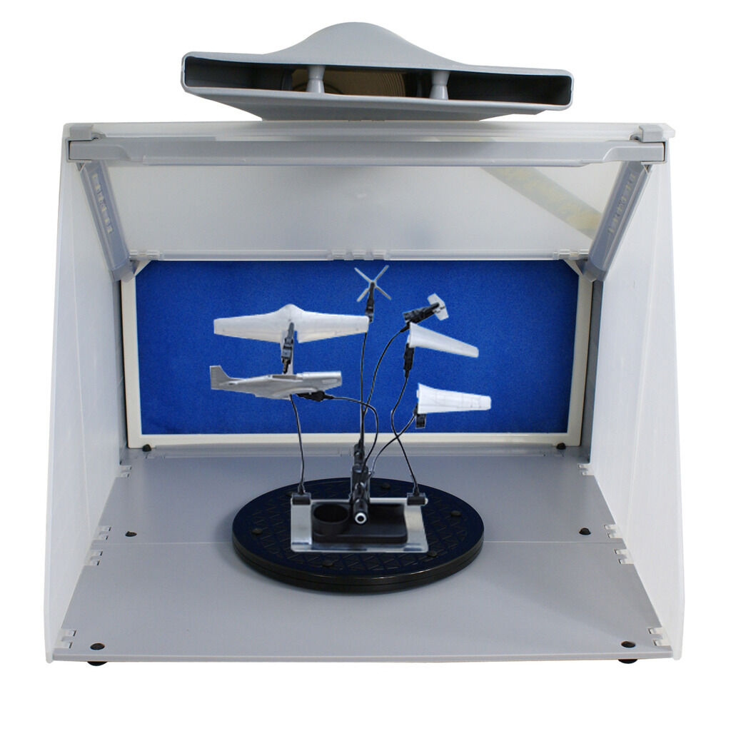 Portable Hobby Airbrush Spray Booth With Led Light Amp 5ft