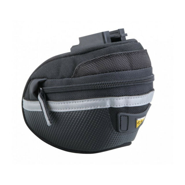 Topeak Wedge Pack II Seat Bag With F25 Fixer and Rain Cover Large for sale online