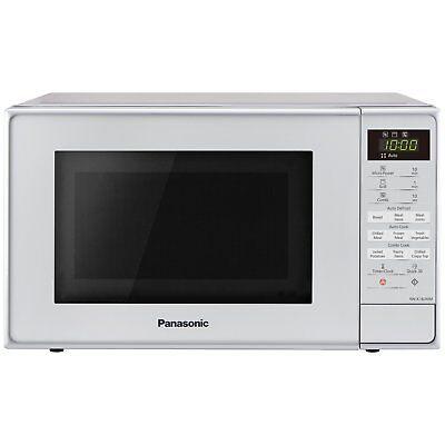 Panasonic NN-K18JMMBPQ 800W 20L Microwave with Grill - Steel Grey.