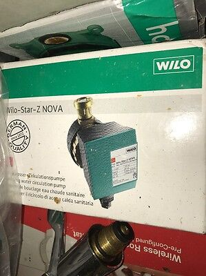 Wilo Star-z Nova Stratification Pump