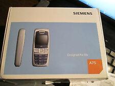 Siemens A 75 OVP Polar silber Simfrei  mit Lader gebr Art Nr.38 E