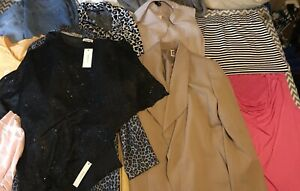 Womans-Size-Large-Clothing-Lot-13-Items-Total-Some-With-Tags
