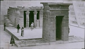 LG781 '78 Wire Photo TEMPLE OF DENDUR Ancient Egyptian Archaeology Ruins Sackler